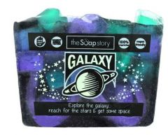 The Soap Story Galaxy Soap Slice 120g