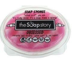 The Soap Story Obsessed Soap Sponge 150g