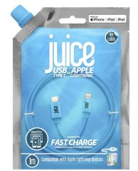 Juice USB C to Lightning Connector 1 Mtr Cable Aqua
