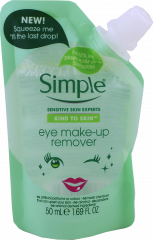 Simple Eye Make Up Remover Pouch 50ml