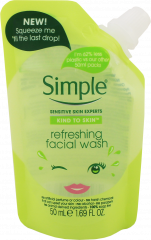 Simple Refreshing Facial Wash Gel Pouch 50ml
