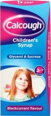 Calcough Children Blackcurrant 125ml