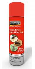 Pest Stop Wasp & Flying Insect Killer Spray 300ml
