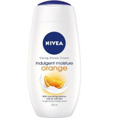 Nivea Shower Cream Indulgent Moisture Orange 250ml