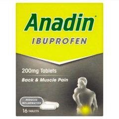 Anadin Ibuprofen Tablet's 16's