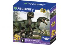 Discovery Prime 3D Puzzles 150 Pieces - Velociraptor
