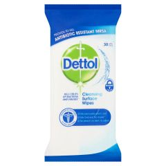 Dettol Anti-Bacterial Surface Wipes 30s
