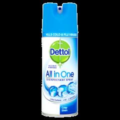 Dettol All In One Disinfectant Spray 400ml Crisp Linen