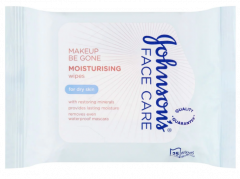 Johnson's Facial Cleansing Wipes 25's - Moisturising