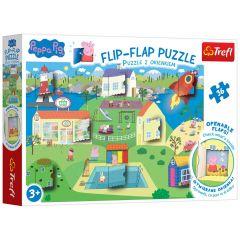 Trefl 3 in 1 Flip Flap Puzzle - Peppa Pig
