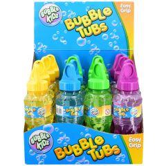 Wholesale Bubble Kidz Bubble Tubs Easy Grip 4 Assorted Colours- Pack size 16