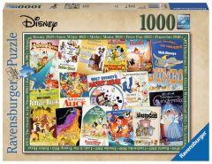Disney Jigsaw Puzzle 1000 piece - Vintage Movie Poster