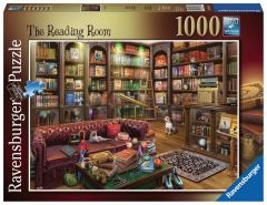 The Reading Room - 1000 Piece Jigsaw Puzzle