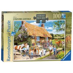 The Country Cottage - 100 Piece Jigsaw Puzzle