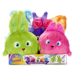 Sunny Bunnies Giggle and Wiggle Medium Plush with Sound in CDU