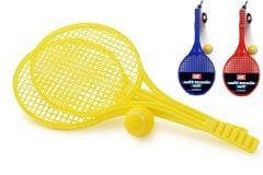Soft Tennis Set - Colours May Vary