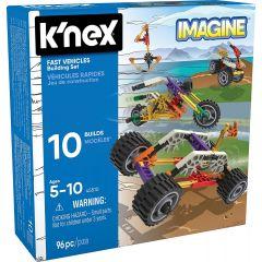 K'nex Fast Vehicles Building Set