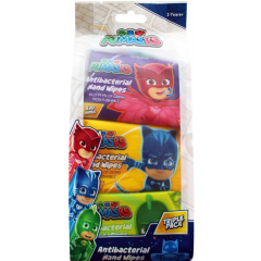 PJ Masks Anti-Bacterial Hand Wipes Triple Pack