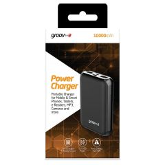 Groov-e Portable Power Bank 10000mAh