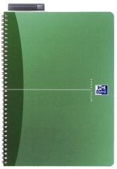 Oxford Office A4 Notebook Metallic Polypropylene Cover