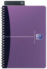 Oxford Office A5 Notebook Metallic Polypropylene Cover
