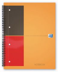Oxford International A4+ Framed Narrow Ruled Notebook