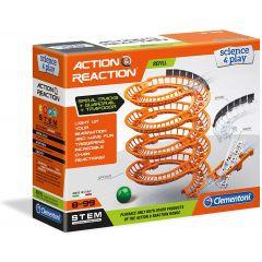 Clementoni Science Museum Action & Reaction- Spiral Create Set  6+