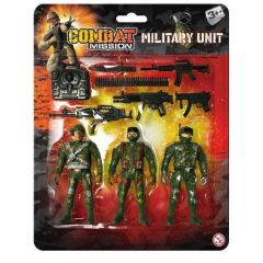 Military Unit Playset