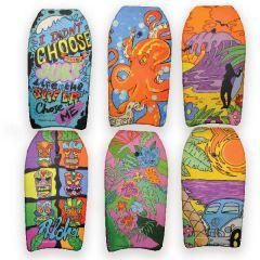 Body Board 6 Asstd Designs 104cm