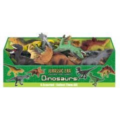 PVC Dinosaurs (6 Assorted) in CDU