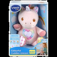 Colourful Cuddles Unicorn
