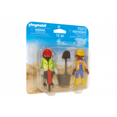 Playmobil 70272 Duo Pack - Construction Workers