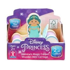 Wholesale Disney Princess World of Wood Mini Carriages, 2 Assorted Designs, Pack Size 6