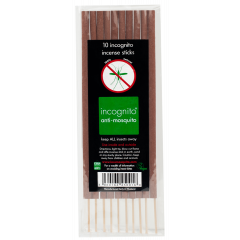 Incognito Insect Deterrent Incense Sticks 100% Natural 10's