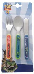 Toy Story 4 - 3 Piece Metal Cutlery Set
