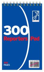 Office Style Reporters Note Pad Ruled 300 Pages
