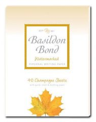 Basildon Bond Champagne Writing Pad P4TO
