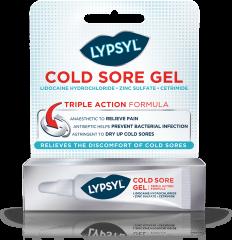 Lypsyl Triple Action Formula Cold Sore Gel 3g