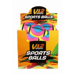 V12 Neon Rugby Ball