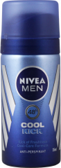 Nivea Anti-Perspirant Deodorant Cool Kick For Men 35ml