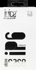 Juice iPhone 6/6s Silicone Phone Case - Black