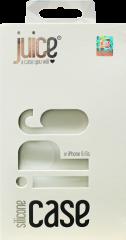 Juice iPhone 6/6s Silicone Phone Case - White