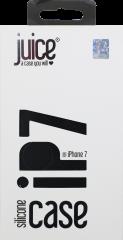 Juice iPhone 7 Silicone Phone Case - Black