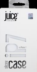 Juice iPhone 7 Silicone Phone Case - White