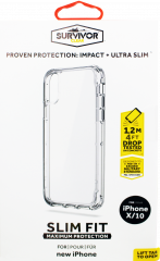 Griffin Survivor Clear Case For iPhone X Clear