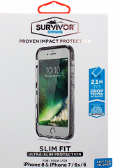 Griffin Survivor Strong Clear Case For iPhone 8, 7, 6S & 6