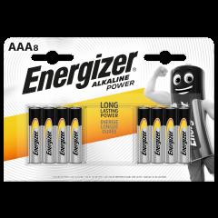 Energizer Alkaline Power AAA Batteries 8pk