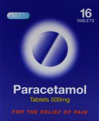 Aspar Paracetamol Tablets 16's