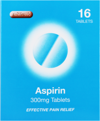 Aspar Aspirin Tablets 16's