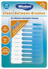 Wisdom Clean Between Interdental Brushes